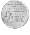 San Francisco World Spirits Championship Silver 2013